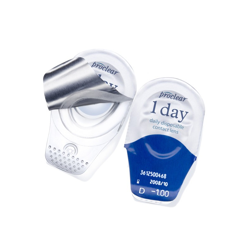 Proclear 1 day lenses are daily disposable aspheric ...